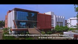 International School of Management Excellence- ISME Banglore